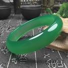 手鐲 天然巴西瑪瑙帝王綠手鐲高冰玉髓飄正陽綠鐲子女款送媽媽愛人禮物 8號店