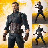 Poco+玩具部 全新 SHF 復仇者聯盟 無限之戰 Marvel Captain America 美國隊長