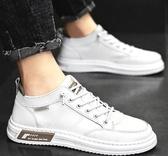 休閒布鞋 男鞋潮鞋2020秋冬季新款帆布鞋男士百搭休閒板鞋小白鞋子