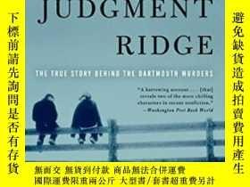 二手書博民逛書店Judgment罕見RidgeY364682 Dick Lehr Harper Paperbacks 出版2