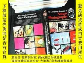 二手書博民逛書店the罕見complete manual of nature photographyY167411