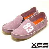 XES 經典帆布鞋進化版 83懶人鞋情侶款(女) 柔軟度up舒適上市_紫色