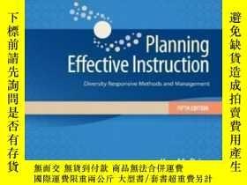 二手書博民逛書店Planning罕見Effective Instruction: Diversity Responsive Met