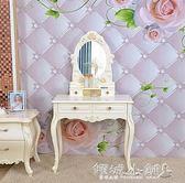 組裝家具 梳妝台歐式現代簡約化妝桌臥室小戶型公主迷妳經濟型化妝台簡易櫃igo  傾城小鋪