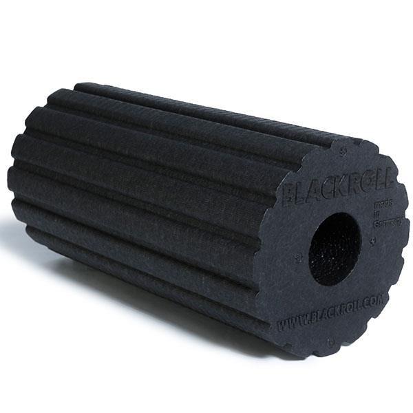 【南紡購物中心】BLACKROLL® GROOVE 波紋版滾筒【黑】