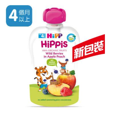 喜寶 HiPP 有機水果趣-水蜜桃野莓 100g