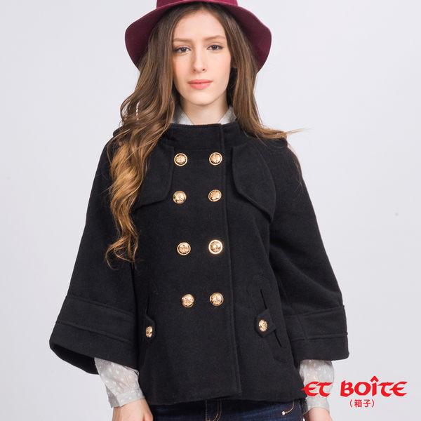 【3折限定】羊毛混紡立領Aline毛呢保暖外套 - BLUE WAY ET BOîTE 箱子