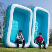 充氣泳池 超大號家庭家用充氣游泳池兒童成人嬰幼兒寶寶泳池加厚大型戲水池jy【快速出貨】