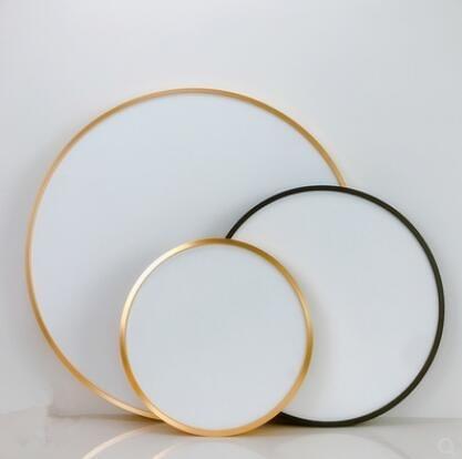 新款帶框鋁合金外框圓形油畫布