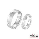 MiGO 閃亮純銀成對戒指