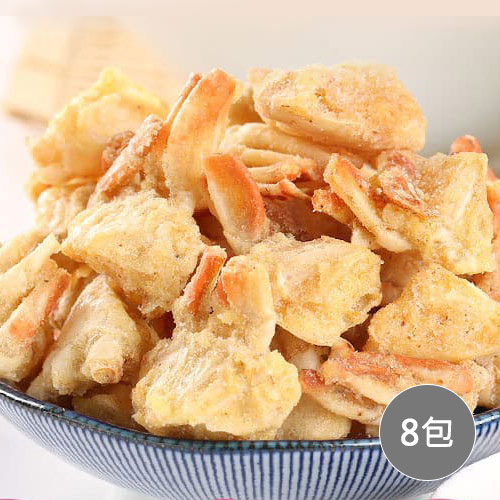【愛上新鮮】卡拉蟹(椒鹽/辣味/甘梅)8包