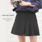 (現貨) 褲裙 韓版設計款短裙短褲 2色-TMH