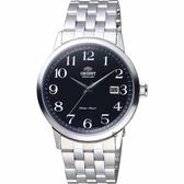 ORIENT東方 飛行者玩家機械錶-黑x銀/41mm FER2700JB