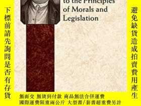 二手書博民逛書店An罕見Introduction To The Principles Of Morals And Legislat