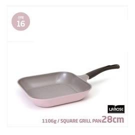 CHEF TOPF 韓國la rose玫瑰鍋 ( #16 方形平底鍋 28cm ) 韓國代購
