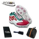 高爾夫女鞋 鞋子 透氣防水運動鞋 高幫鞋子 休閒球鞋 GSH025WRED
