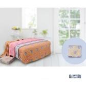 【儂儂non-no】6層紗布毛巾被 心型款 (粉/ 桃紅)150cm*200cm