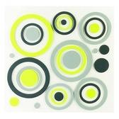 義大利HOME DÉCOR3D泡棉貼飾M-綠緣C54503