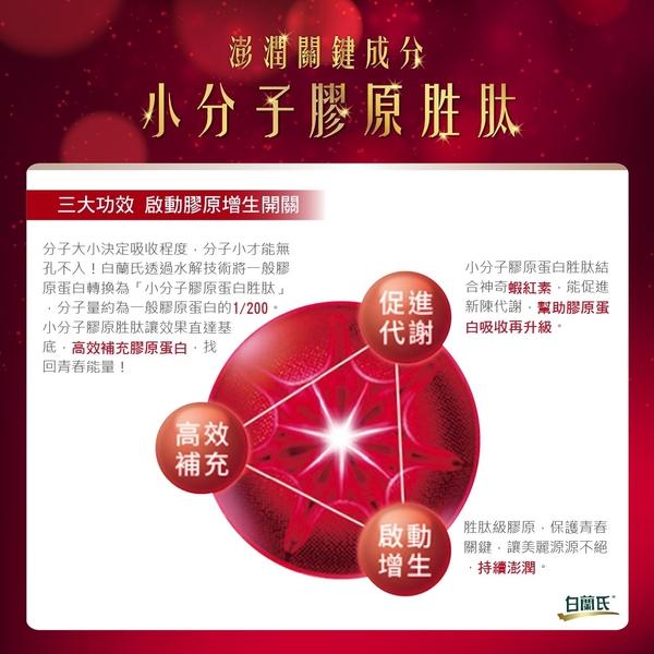 白蘭氏 紅膠原青春凍10入/盒 膠原蛋白(效期2021/11) 14004088