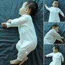 嬰兒連體衣服春秋季純棉新生兒睡衣秋冬男寶寶空調服薄款長袖夏裝