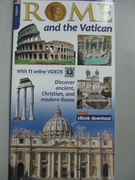 【書寶二手書T6/歷史_HKF】Rome and the Vatican. Discover…_Lozzi Roma