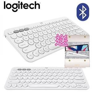 羅技 K380-珍珠白 跨平台藍芽鍵盤