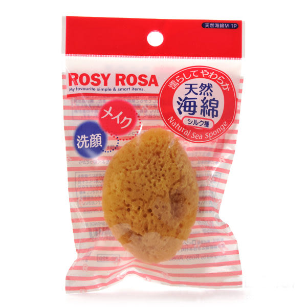 ROSY ROSA 天然化妝洗顏兩用海綿(M)  ◇iKIREI