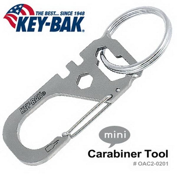美國KEY BAK Carabiner Tool 多功能工具 (公司貨))#0AC2-0201