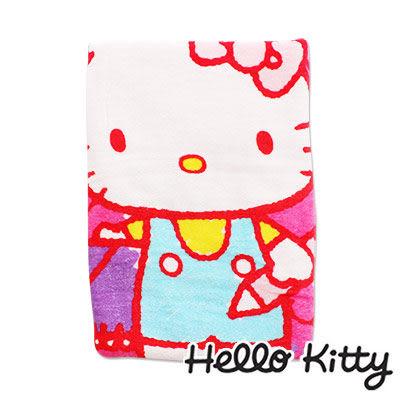 Sanrio三麗鷗Hello Kitty系列-凱蒂貓寫生大浴巾