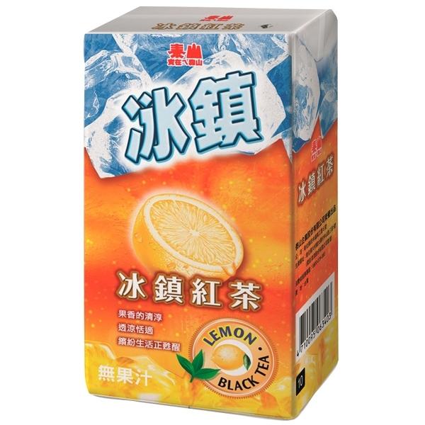 泰山 冰鎮紅茶 300ml (6入)/組【康鄰超市】