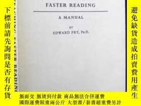 二手書博民逛書店TEACHING罕見FASTER READING(英語快速閱讀教學手冊)Y163 EDWARD FRY,Ph.
