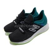 New Balance 慢跑鞋 Fresh Foam ROAV Wide 寬楦頭 黑 綠 男鞋 緩震中底 運動鞋 【ACS】 MROAVCB2E