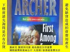 二手書博民逛書店外文書罕見ARCHER First Among Equals(共466頁,32開)Y15969