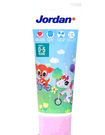 [COSCO代購] W133801 Jordan 清新水果味兒童牙膏 0-5歲 75公克 X 8入