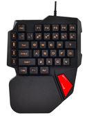 機械手感單手鍵盤滑鼠游戲平板吃雞神器手機左手小鍵盤