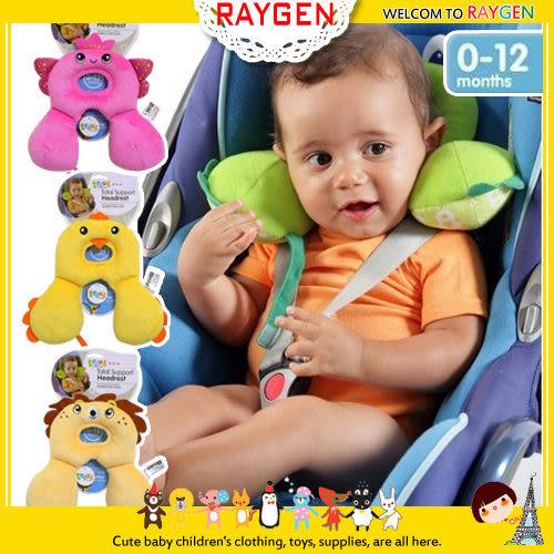 兒童0-12防落枕動物造型護頸枕/安全旅行枕/u型記憶枕
