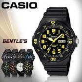 CASIO手錶專賣店 卡西歐  MRW-200H-9B 男錶  防水100米 造型指針 星期、日期顯示  塑膠錶帶