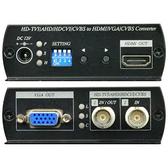 科信科技 CSAHD100 AHD 轉 HDMI、VGA、CVBS 訊號轉換器