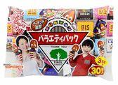 【吉嘉食品】日本Tirol 松尾巧克力(六種口味混合)1包30入[#1]{4902780018328}