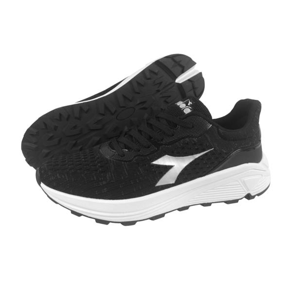 《Diadora》男鞋 慢跑鞋 黑色 DA71115
