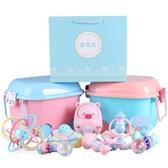 新生兒禮盒嬰兒玩具套裝滿月