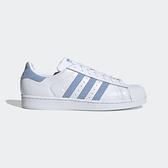 Adidas Originals Superstar [EF9239] 女鞋 運動 休閒 慢跑 經典 百搭 愛迪達 白藍