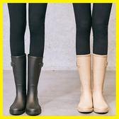 簡約時尚雨鞋女成人韓國中筒水靴膠鞋防滑女士水鞋雨靴