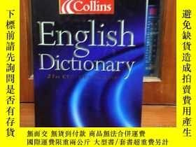 二手書博民逛書店COLLINS罕見ENGLISH DICTIONARY 21th