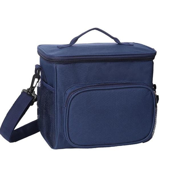 飯盒保溫袋便當手提包鋁箔加厚帆布飯盒袋子大號上班帶飯菜午餐包 創意新品