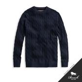 【Roush】 圓領麻花針織毛衣 -【716508】