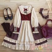 Lolita裙莓莓漿果op洛麗塔連身裙洋裝公主裙【聚可愛】