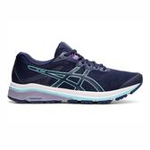 Asics GT-1000 8 D [1012A461-401] 女鞋 運動 慢跑 健走 休閒 緩衝 透氣 亞瑟士 深藍