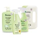 ◆內含洗衣精(香味隨機)+去漬劑(檸檬草)+洗碗精(柑橘)+浴廁清潔劑(橙花香)