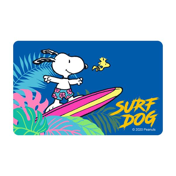 SNOOPY《SURF DOG》一卡通
